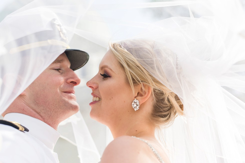 Family heirloom bridal veil