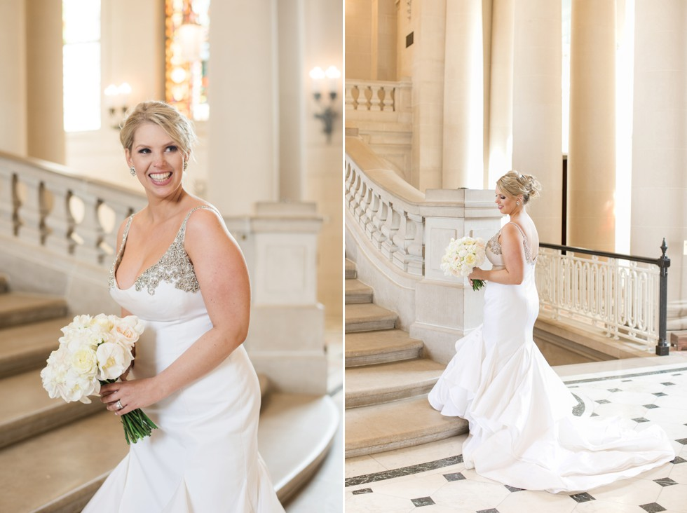 Bancroft Hall Kleinfeld Bridal dress