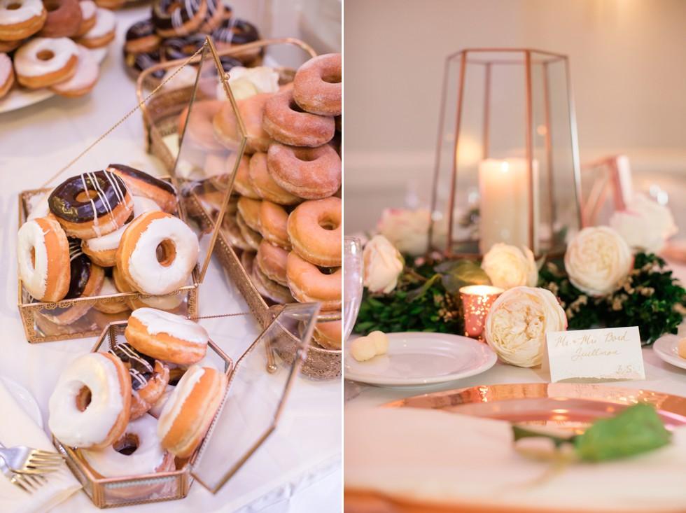 donut wedding cake