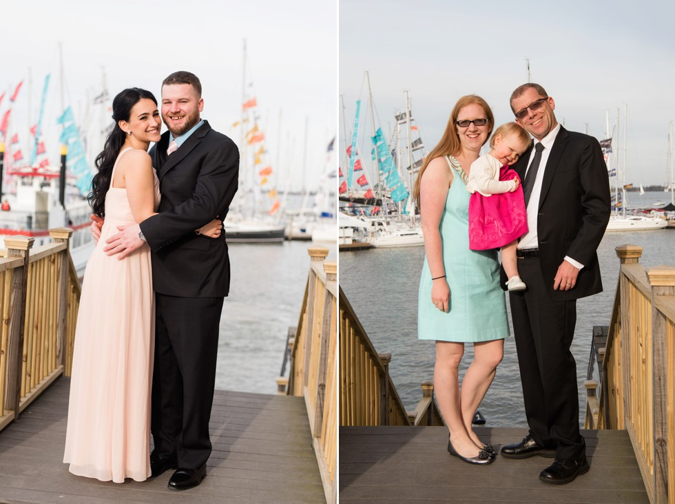 Fire pit evening wedding reception Annapolis waterfront hotel