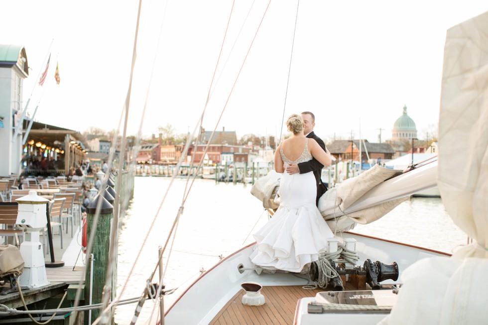 Woodwind Schooner Annapolis wedding