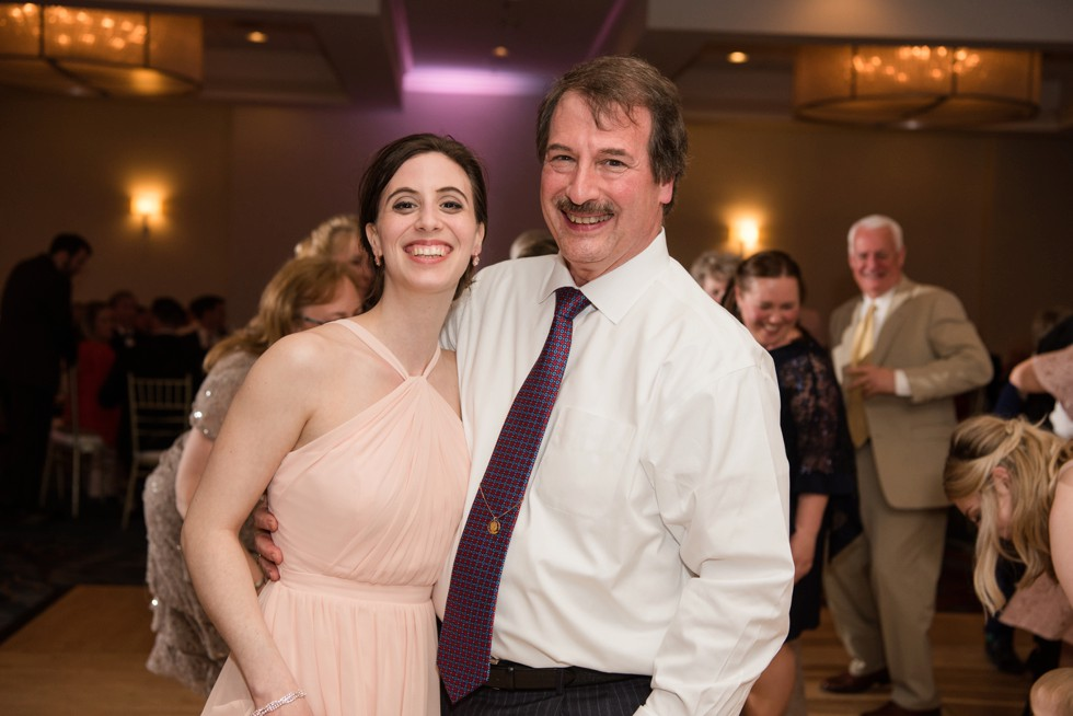 fun wedding reception at Annapolis Waterfront Hotel