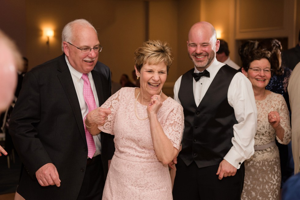 wedding reception at Annapolis Waterfront Hotel