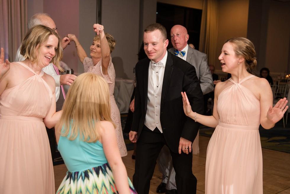 Annapolis Waterfront Hotel, Autograph Collection dance reception