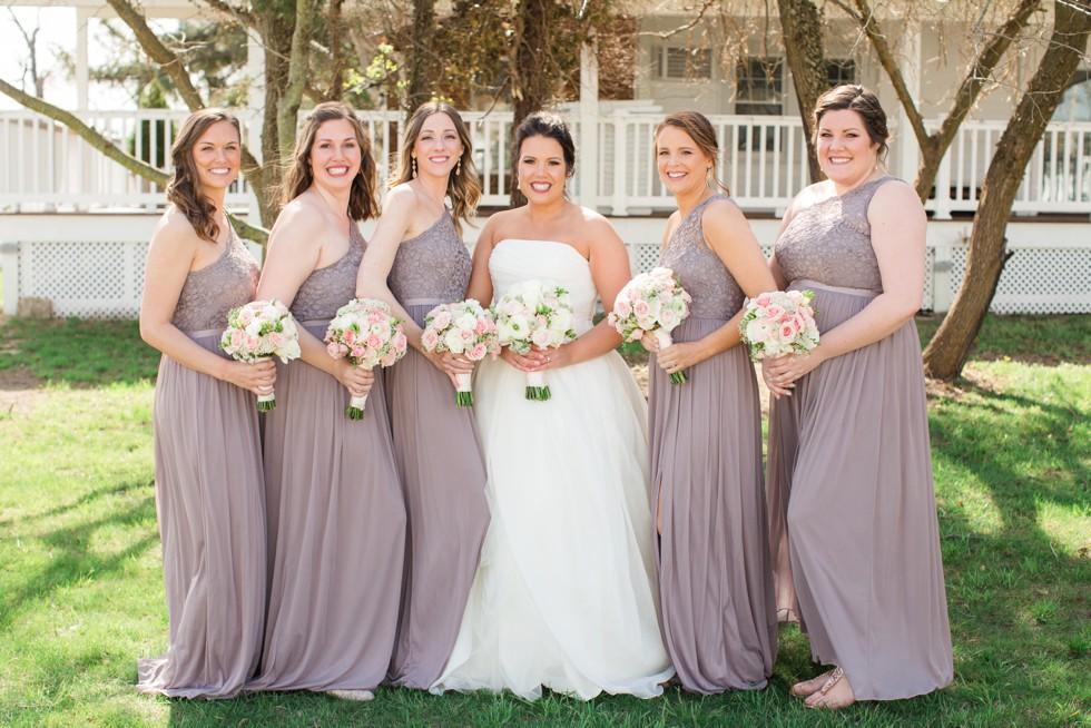 Celebrations at the Bay morning wedding party photos
