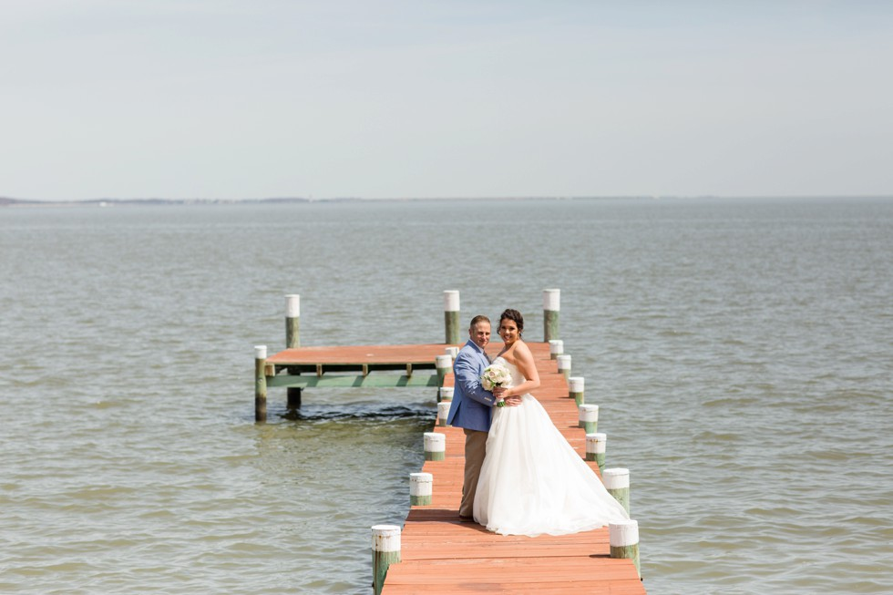 Celebrations at the Bay bride and groom portraits