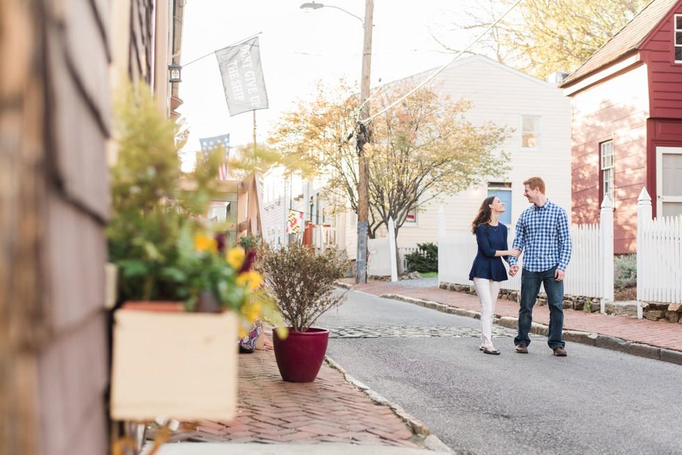 charming annapolis engagement photos