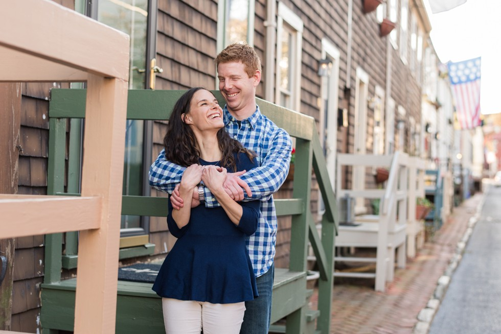 charming annapolis engagement photos