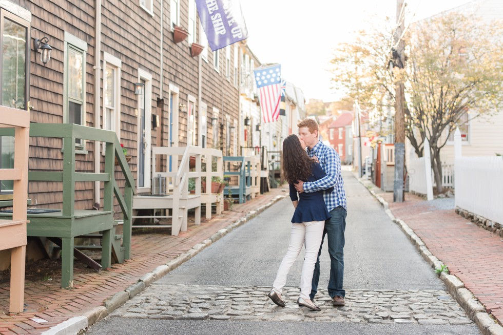 Pinkney Street engagement photos
