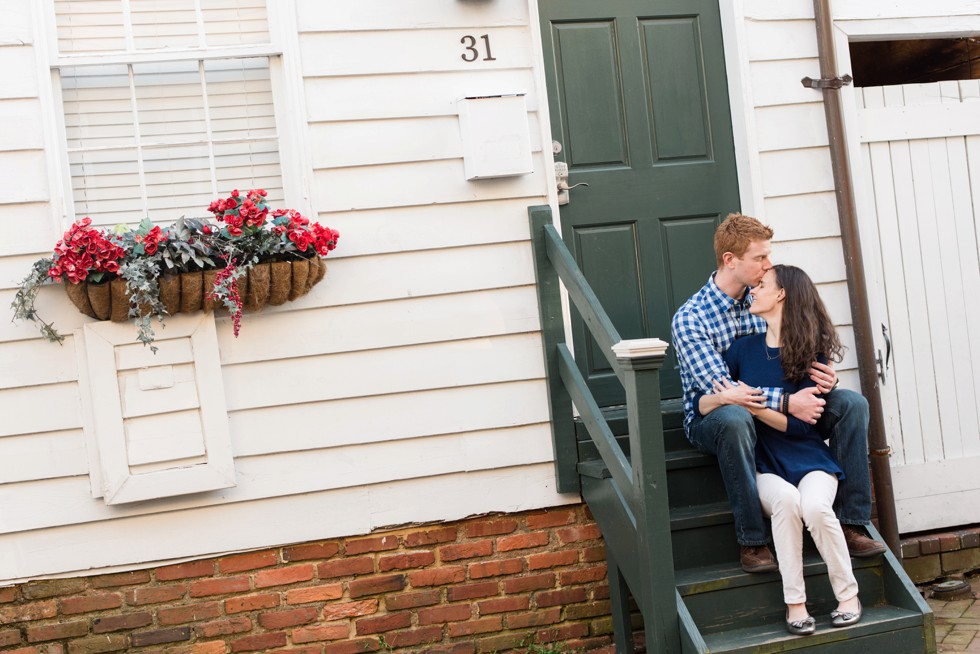 Annapolis Maryland State House engagement photographs