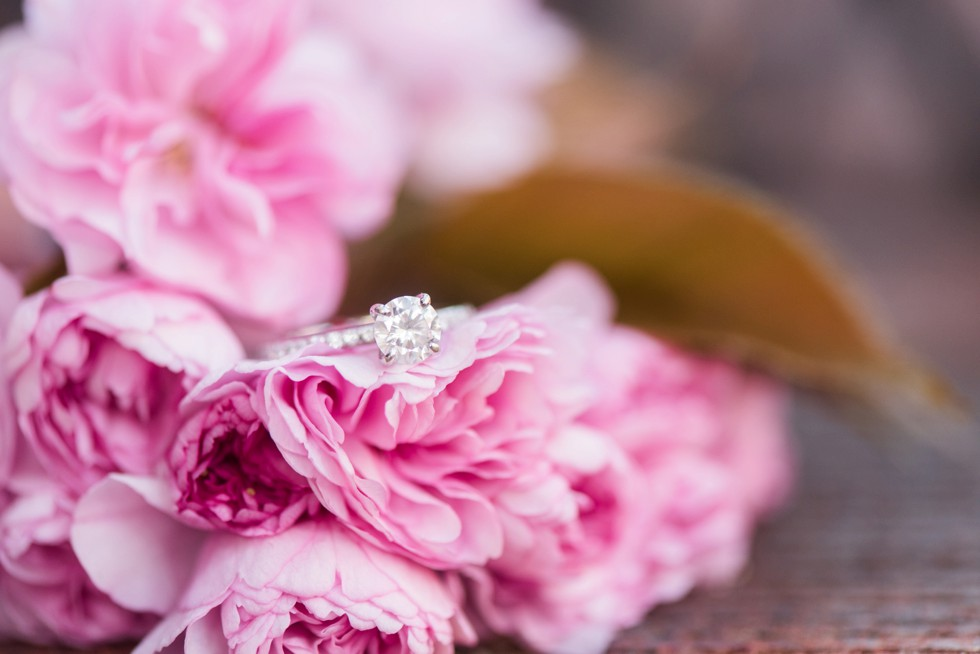 spring engagement ring