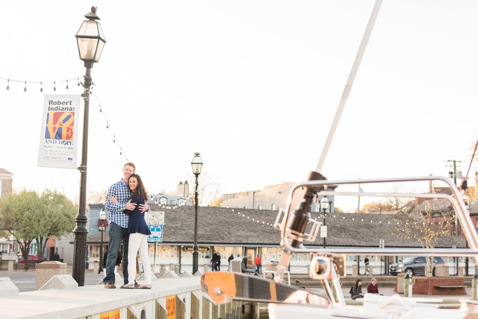 annapolis sailboat show engagement