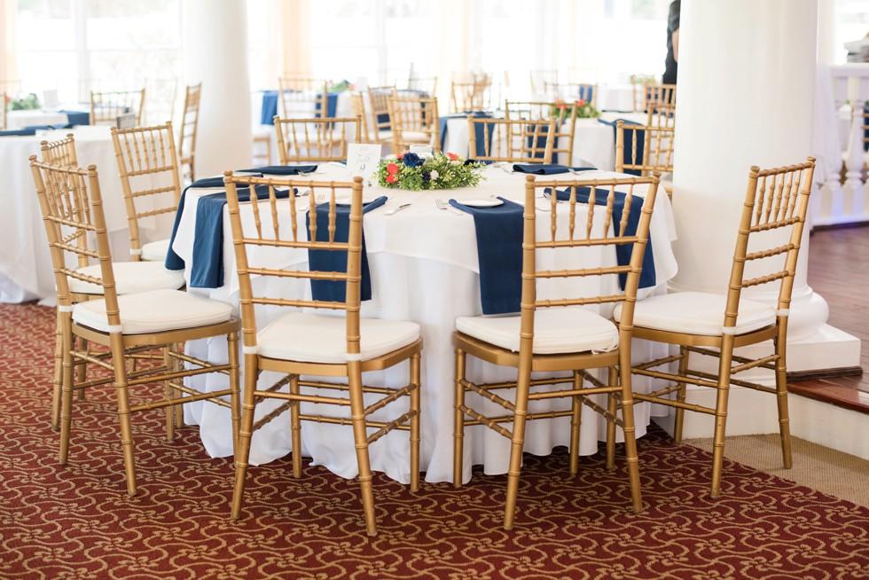 Historic Kent Manor Inn Spring wedding reception details