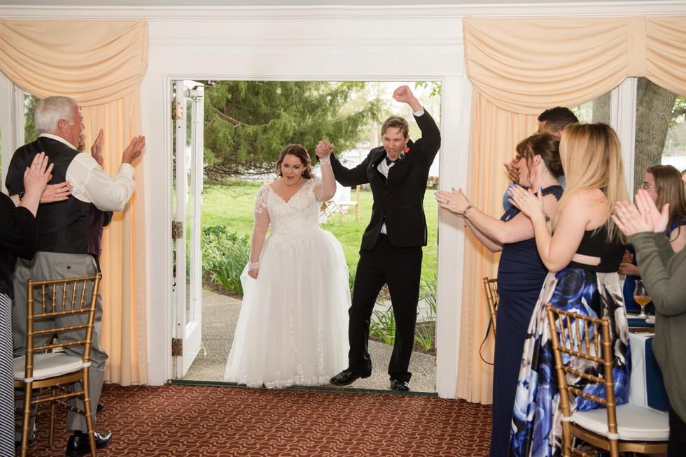 Historic Kent Manor Inn Spring wedding reception