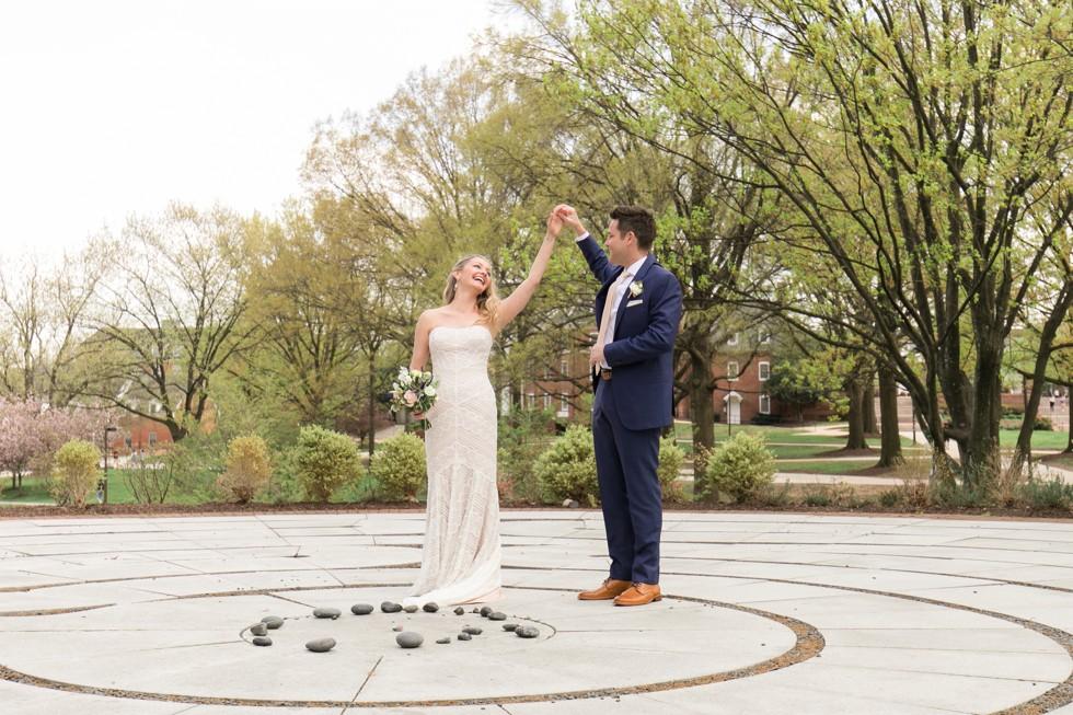 University of Maryland College Park wedding photos