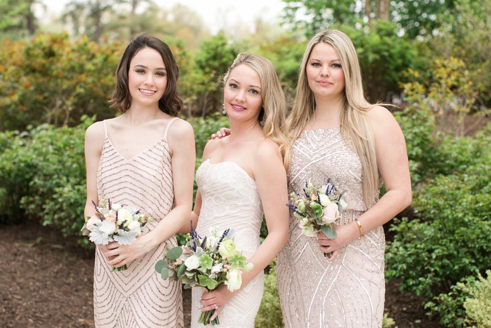 UMCP Bridesmaids in blush