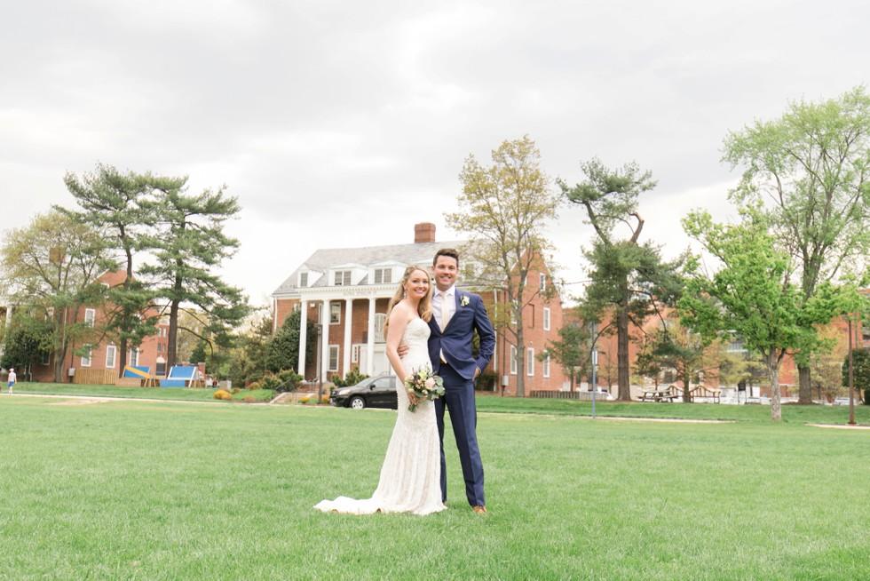 University of Maryland wedding photos