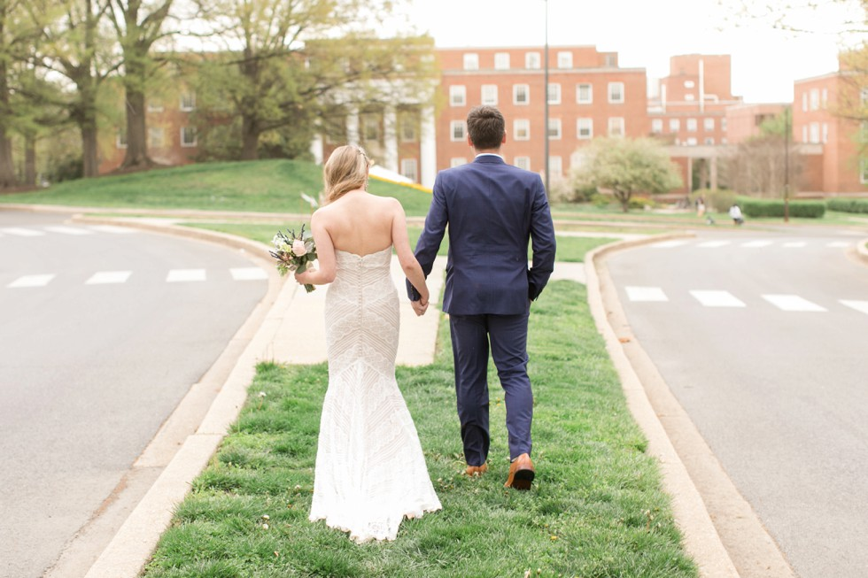 University of Maryland bride and groom
