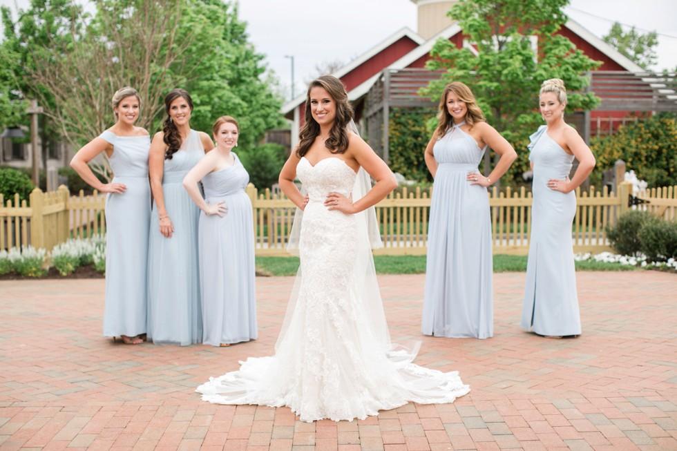 The Inn at the Chesapeake Bay Beach Club bridesmaids