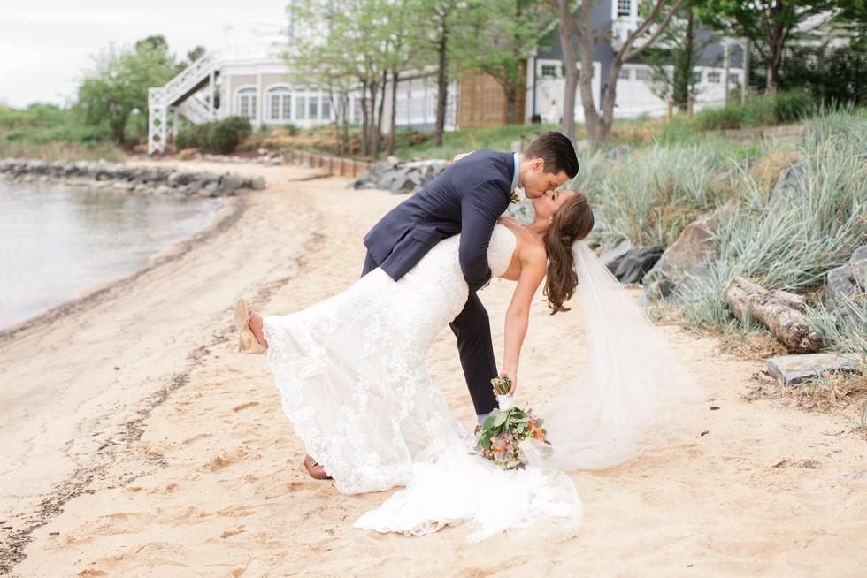 Cinco de Mayo Beach wedding couple
