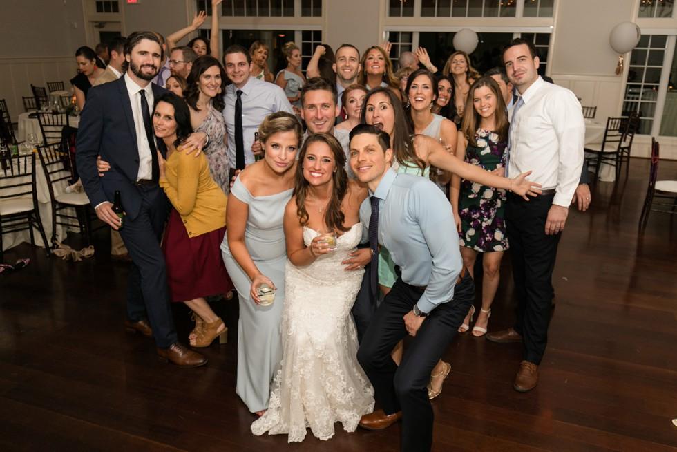 Bay Beach Club wedding reception