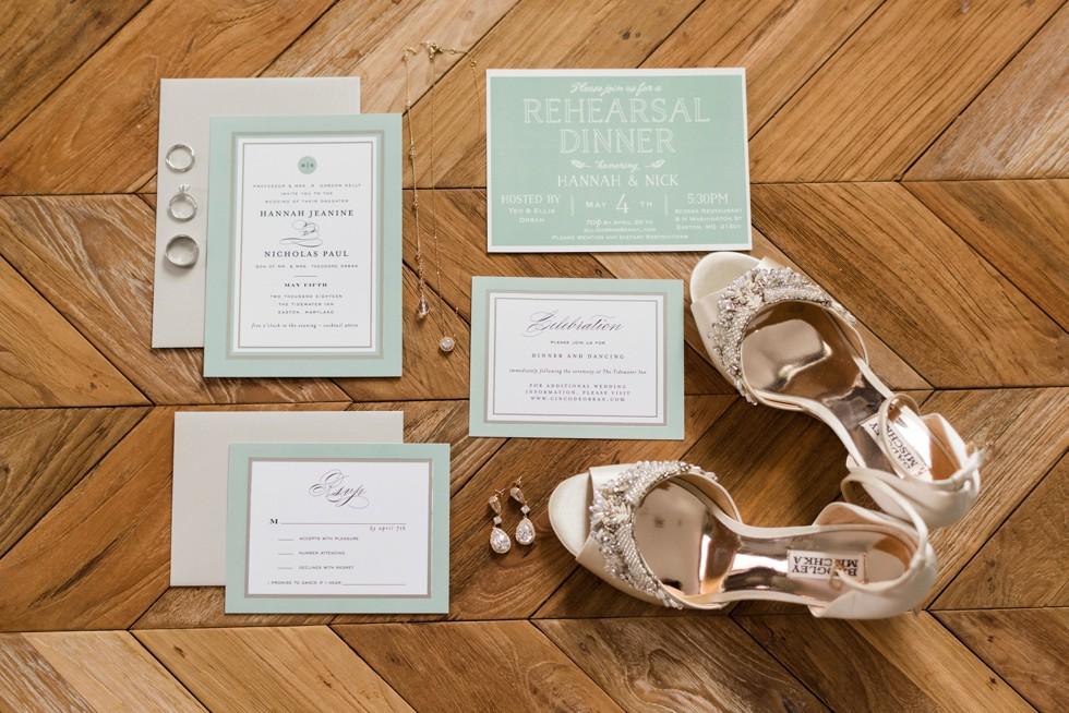 Easton Maryland Wedding invitations