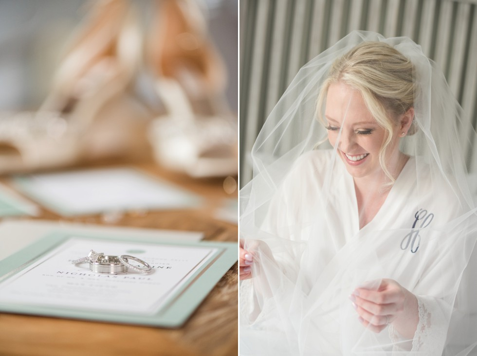 Tidewater inn bride getting ready
