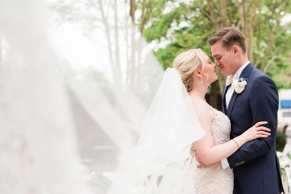 The Tidewater Inn Easton MD bridal veil