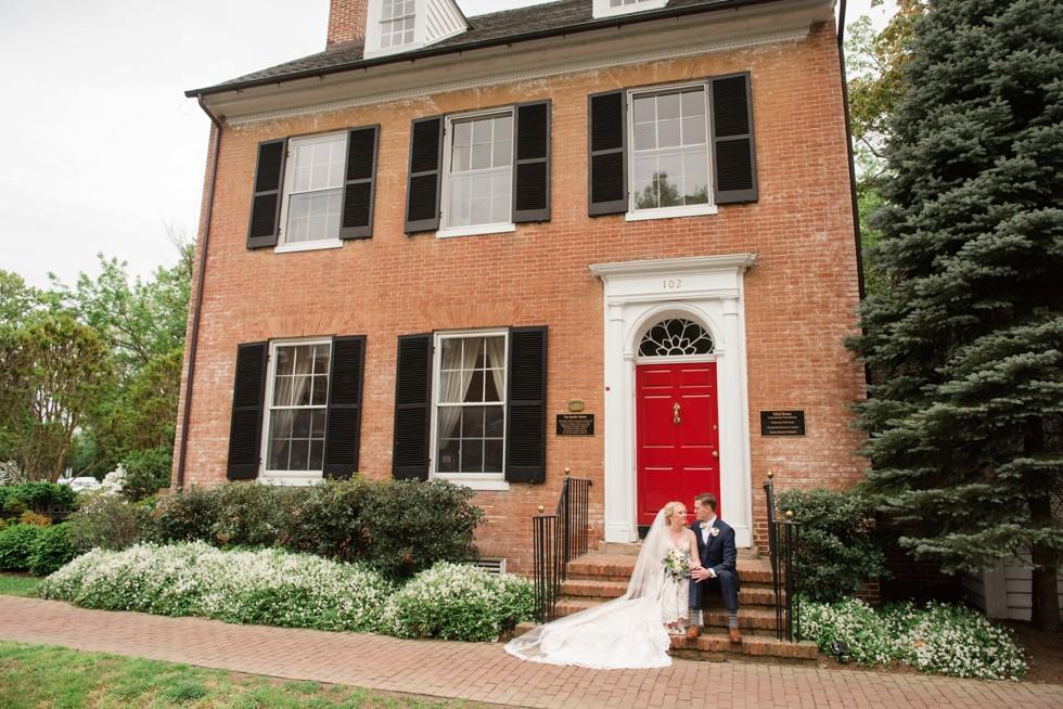 Easton Maryland wedding couple