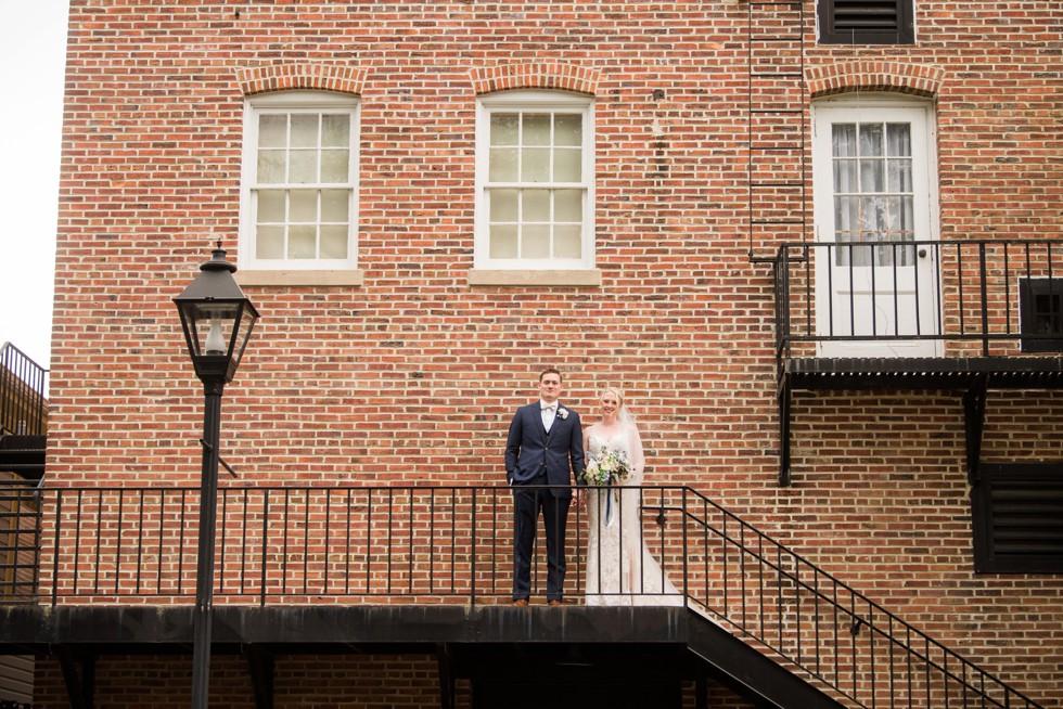 Downtown Easton Maryland Wedding photos