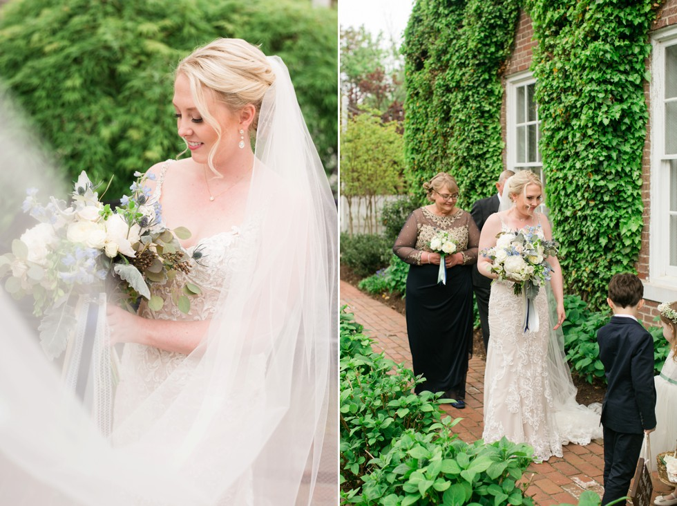 The Tidewater Inn outdoor ceremony