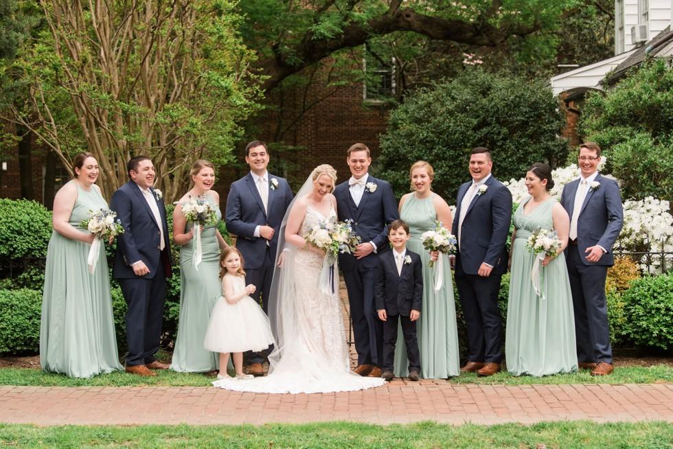 The Tidewater Inn wedding party