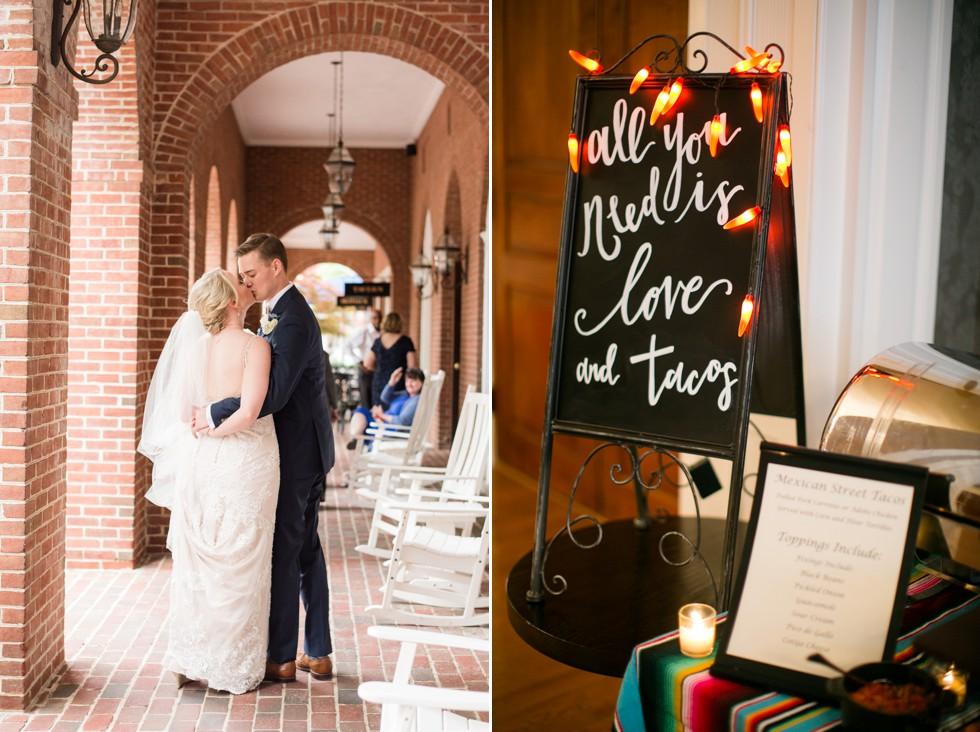 Cinco de mayo wedding at Tidewater inn