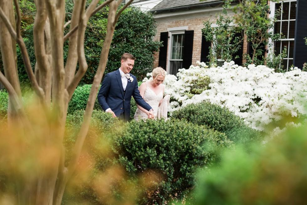 Easton Maryland Garden wedding photographers