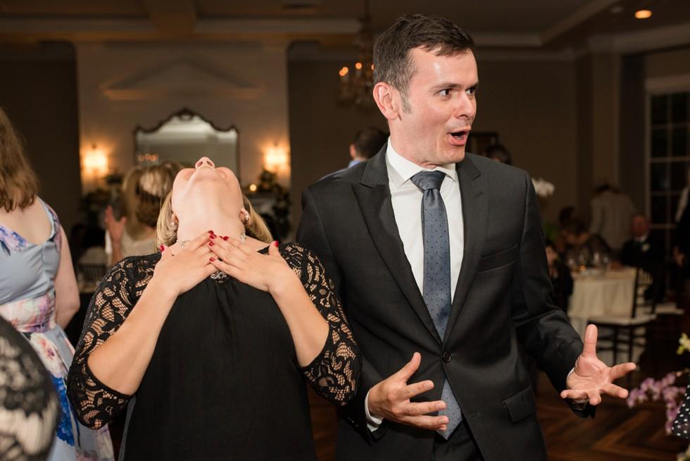 The Tidewater Inn wedding reception