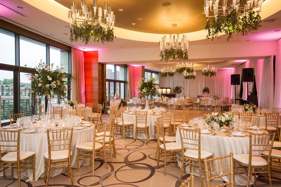 Four Seasons Hotel indoor reception