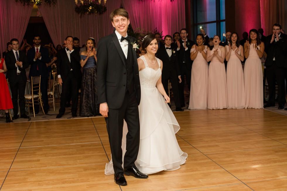 Four Seasons Hotel Baltimore wedding reception