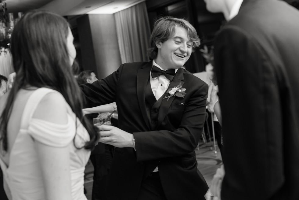 Four Seasons Hotel Baltimore wedding reception toasts