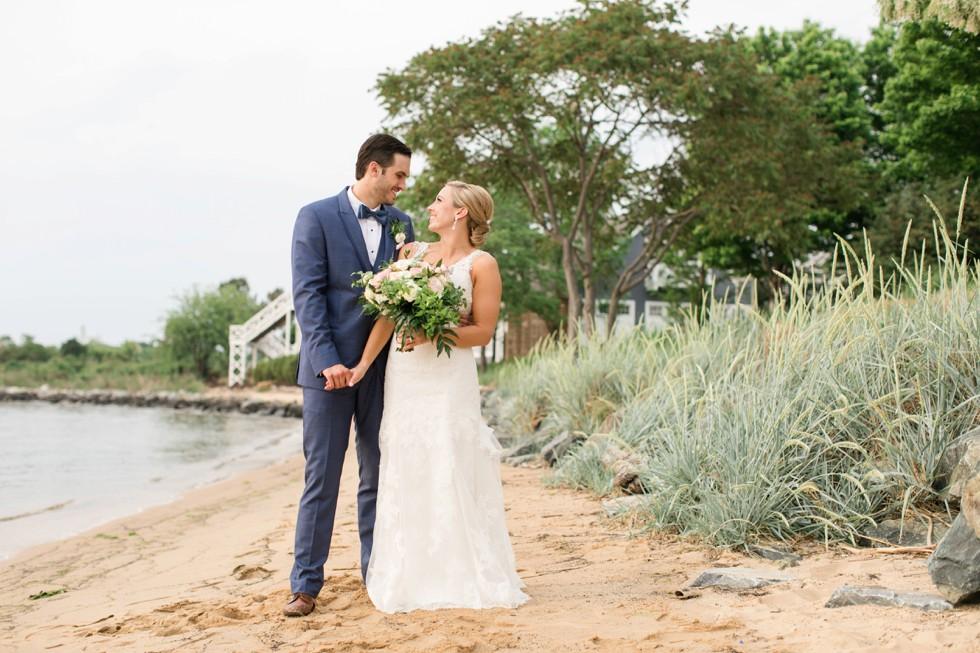 Coastal wedding at Chesapeake Bay Beach Club