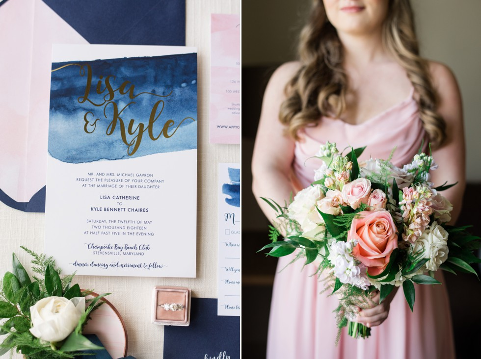 Susan Wilson Designs coastal wedding invitations