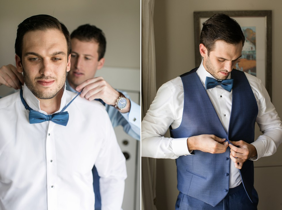 Delaware Blue Hens alumni wedding