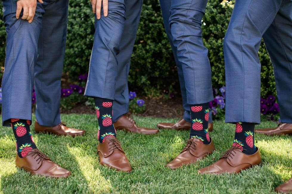 Capital Custom Clothier groomsmen socks