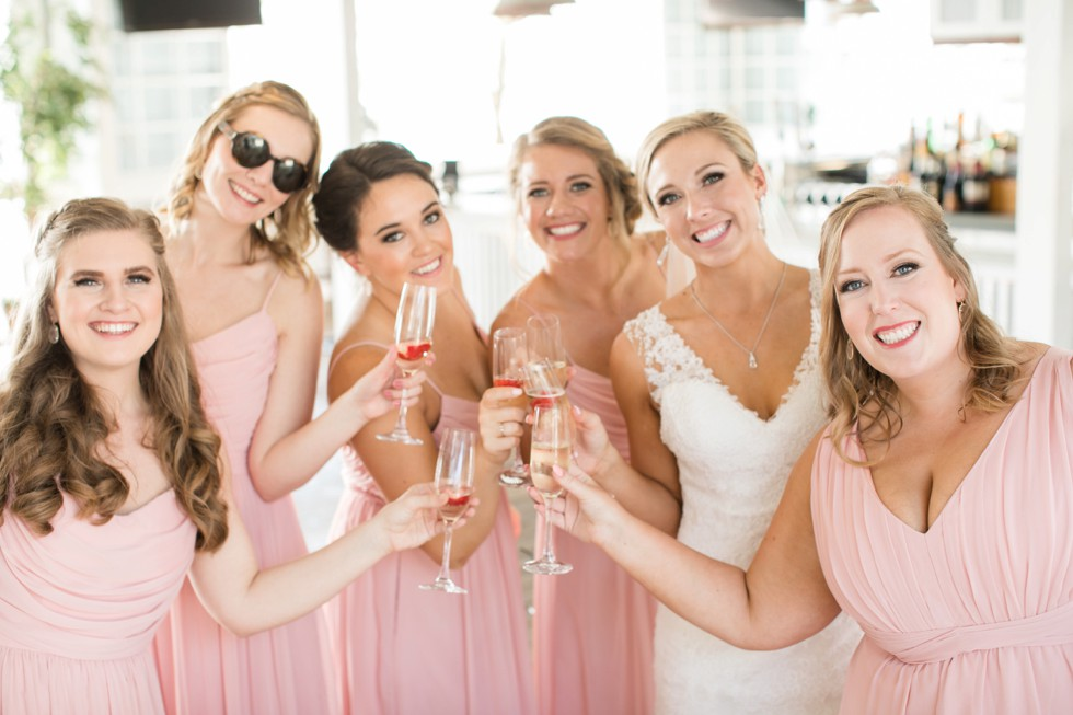 blush pink bridesmaid dress Weddington Way