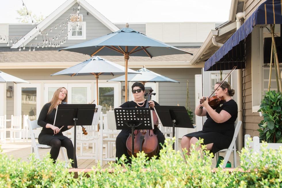 beach wedding Hill Chamber Music