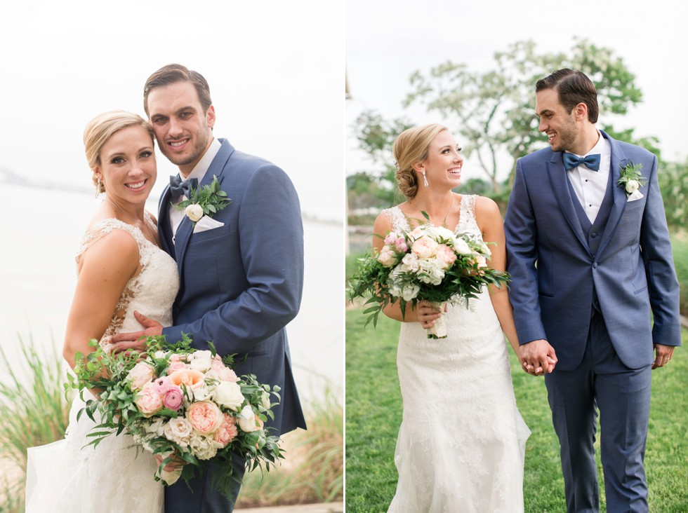Monteray Farms floral bride and groom bouquet