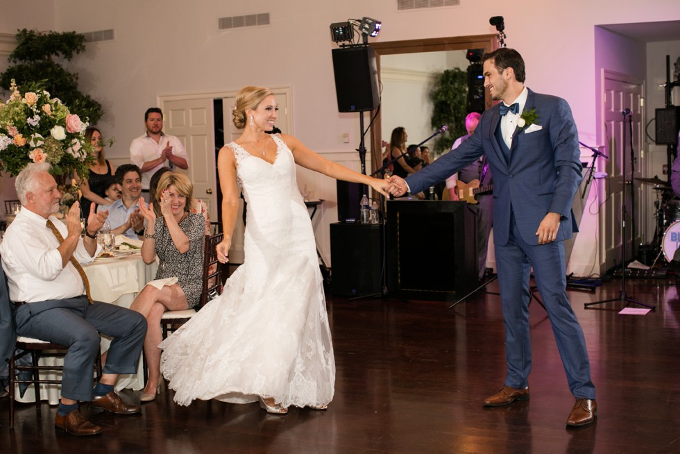 Eastern Shore wedding first dance