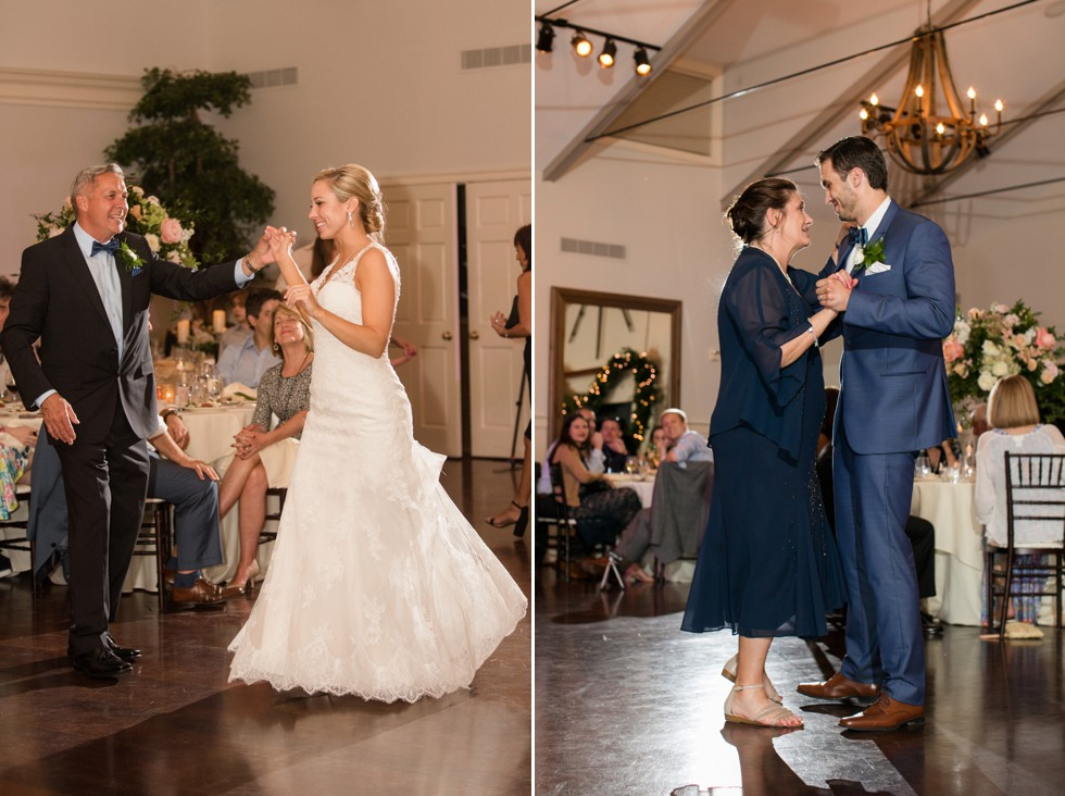 wedding parent dance Beach house