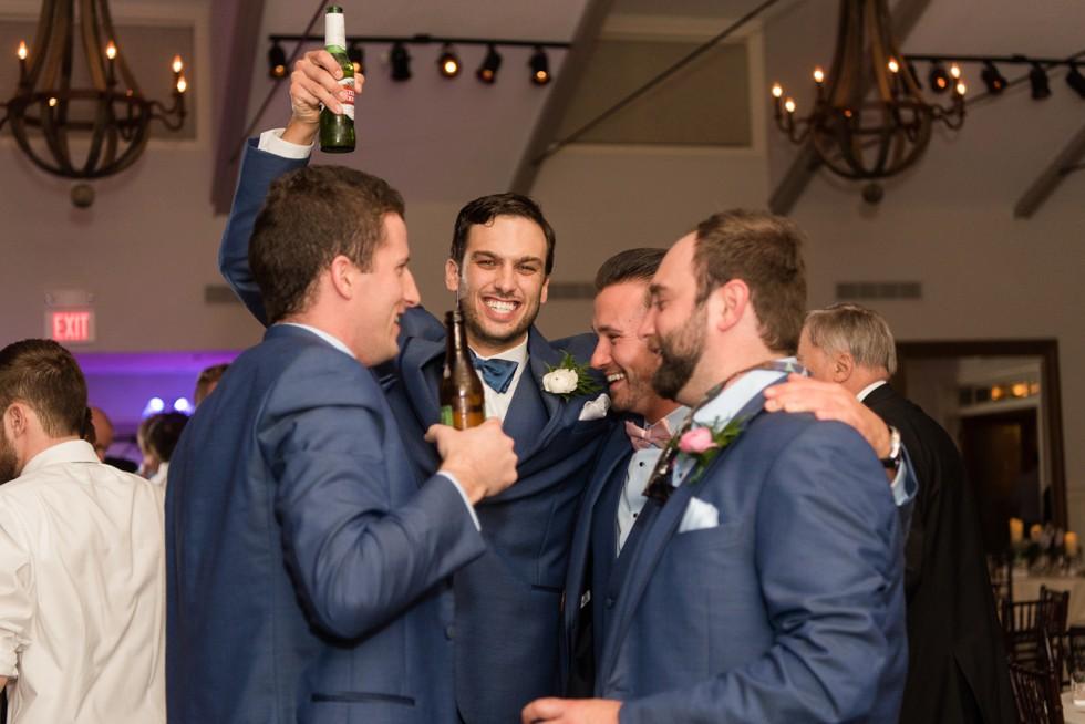 Blue Label Band wedding reception
