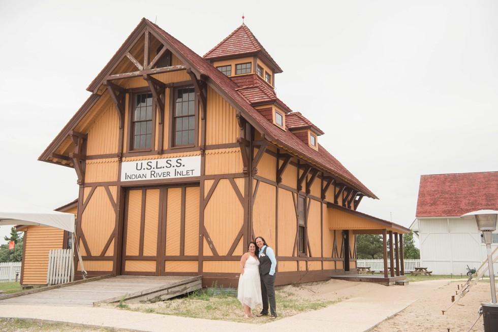 Indian River Life Saving Stations Rehoboth Beach Wedding