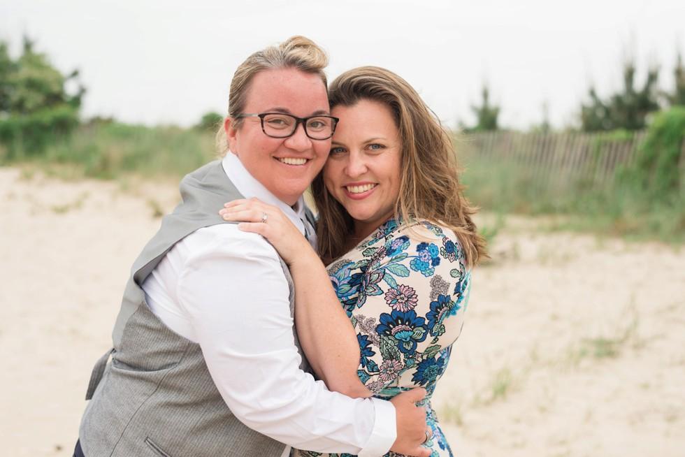 Rehoboth Beach couple portraits